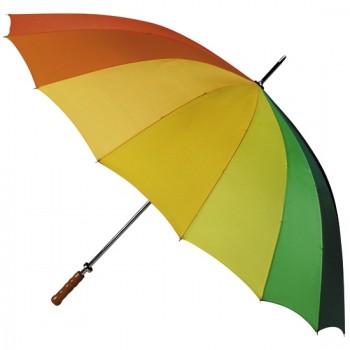 Golfparaplu regenboogkleur